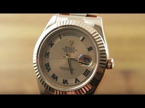 Rolex Day-Date II Everose 218235 Rolex Watch Review