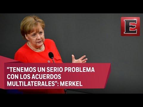 """Merkel vaticina """"controversias"""" en la cumbre del G7 con Trump"""