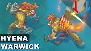 Hyena Warwick - Champion Rework 2017 (League of Legends)