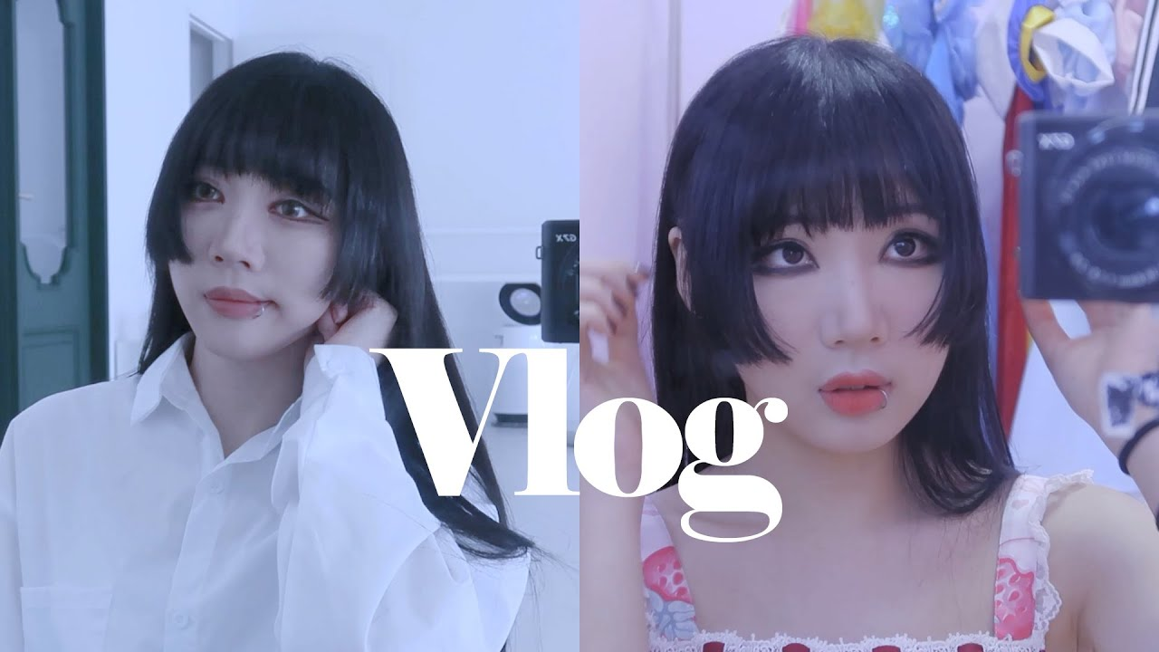 Vlog|촬영다니는 오타쿠 브이로그, 춤춰보았다 촬영 비하인드 쪼금....그리고....그냥...일..상....나...의...하...루.....