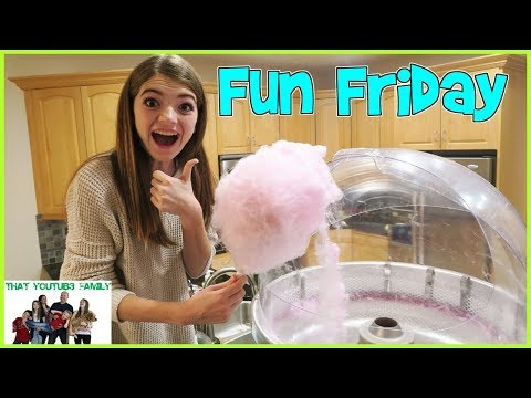 Download Youtube: FAMILY FUN FRIDAY - GAMES, MOVIE AND TREATS / That YouTub3 Family