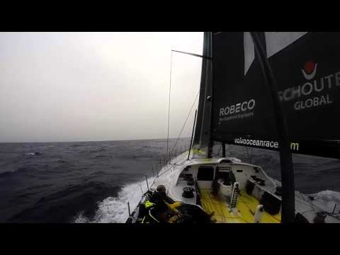 Vo65 sailing