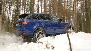 Прикатываю SVR по снегу.