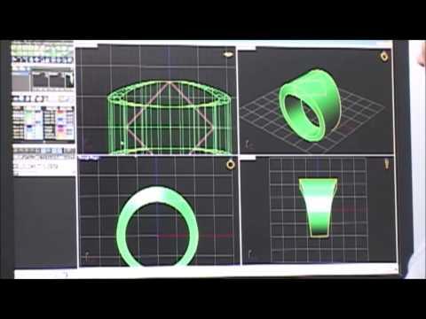 Complete CAD Jewelry Design process
