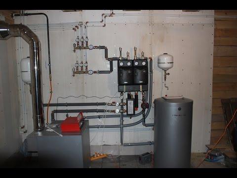 Обвязка котла системы отопления