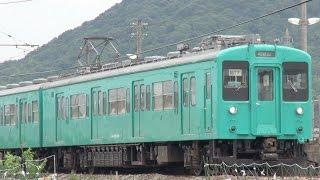 和歌山線 105系 千旦駅
