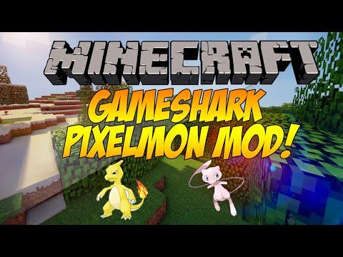 minecraft-mod-showcase:-gameshark-pixelmon-mod!!!