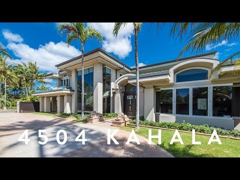 Luxury Home Kahala  |  4504 Kahala Ave, Honolulu, Hawaii