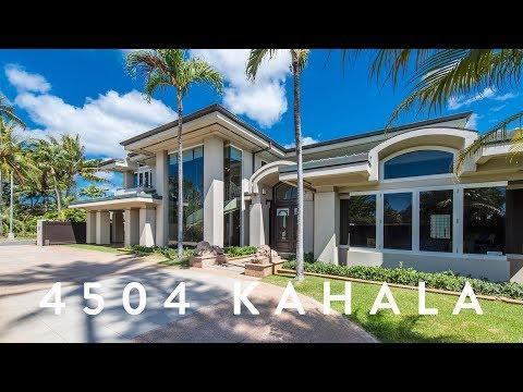 Luxury Home Kahala     4504 Kahala Ave, Honolulu, Hawaii