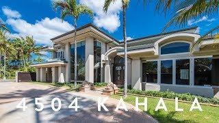 Luxury Home Kahala - 4504 Kahala Ave, Honolulu, Hawaii