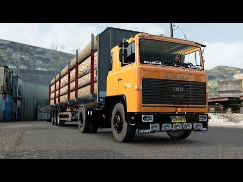 ETS 2 1.26 ProMods 2.15 Scania 140 Zürich - Hannover