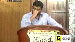 Gnanavelraja at Kumki Press Meet