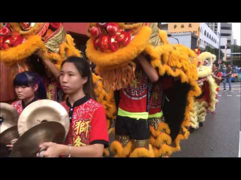 新加坡龙狮节 2017 (Singapore Dragon & Lion Dance Festival 2017)