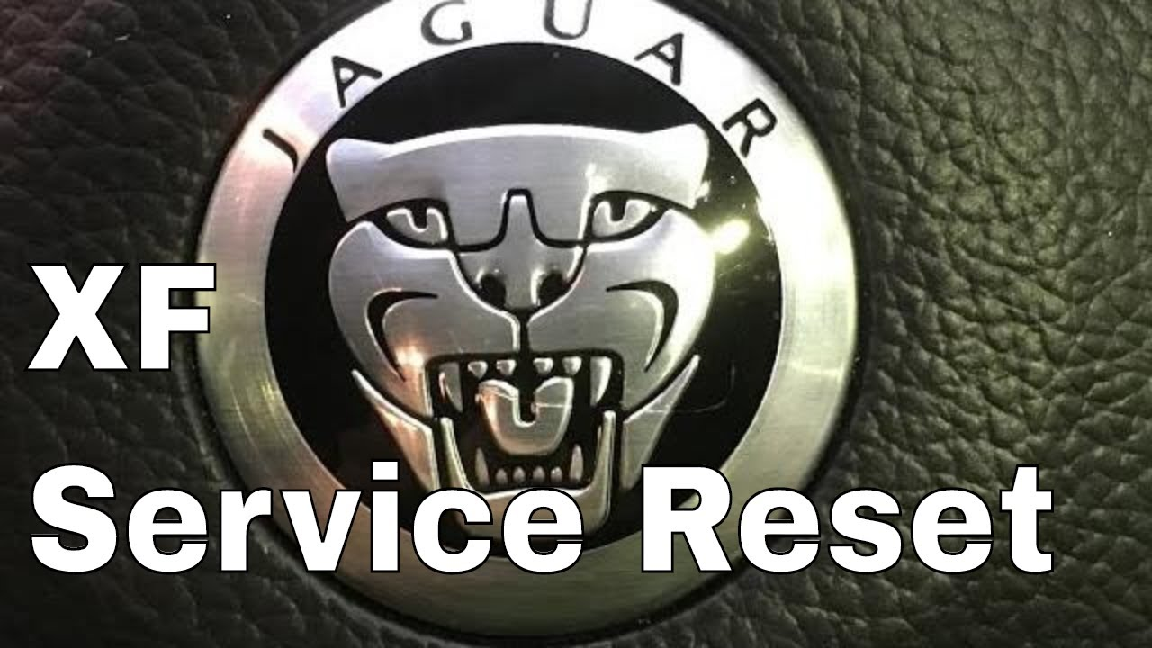 How to reset the service indicator on Jaguar XF 2013