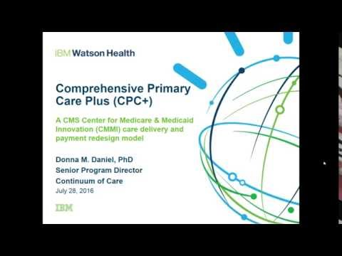 Preparing for Comprehensive Primary Care Plus CPC