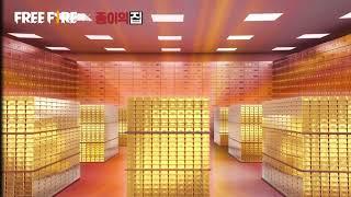 《Free Fire》X【종이의 집】아름다운 금들을 봐.…