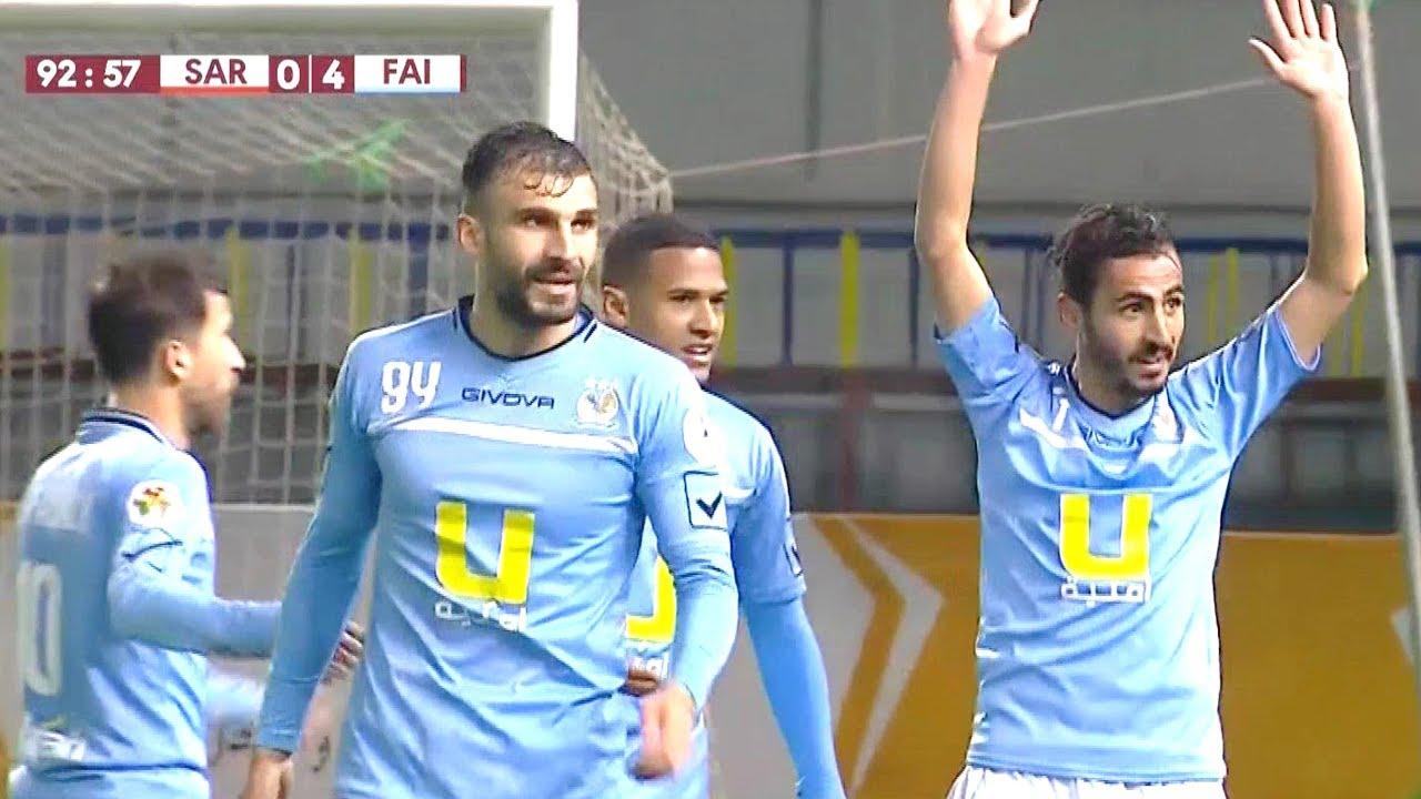 أهداف مباراة الصريح 0-4 الفيصلي | دوري المحترفين الأردني 31-3-2019