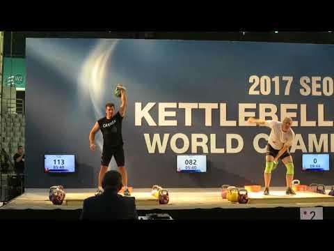 Todd's bronze medal winning veteran biathlon snatch set
