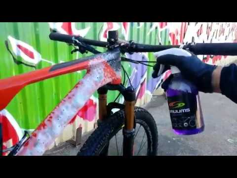 How To Clean Your Bike with the SMUUMS foam system.