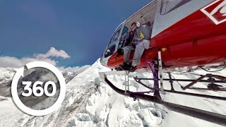 Fly a Helicopter on Mt. Everest In Incredible Virtual Reality! 🚁🏔️ (360 Video)