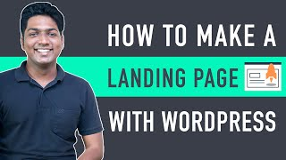 How To Create A Lanḋing Page In WordPress