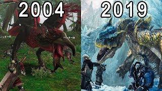 モンスターハンター 進化の軌跡 / Evolution of Monster Hunter Games 2004-2019