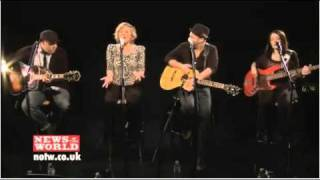 Sugarland - Stuck Like Glue (News of the World session)