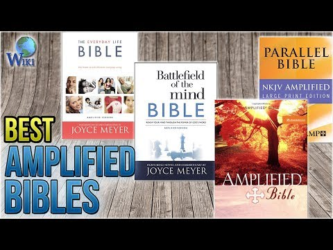 10 Best Amplified Bibles 2018 - YouTube