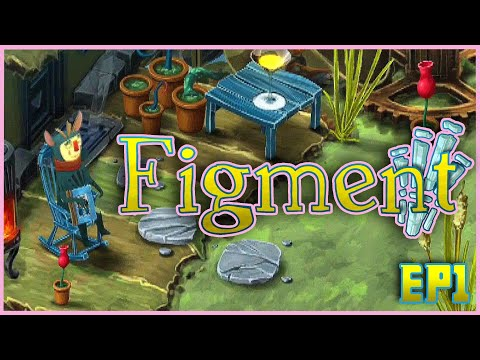 THIS GAME IS BEAUTIFUL | Figment Ep 1 |