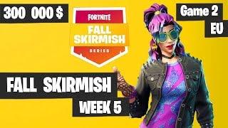 Fortnite Fall Skirmish Week 5 Game 2 EU Highlights (Group 1) - Royale Flush