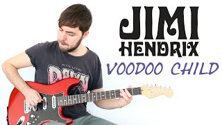 Estilo Jimi Hendrix - Voodo Child - Licks + Riff + TAB