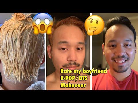DIY: MY Girlfriend Bleach and DYE My Hair K-POP/BTS POPSTAR Style Because I lost a Bet. #KPOP #BTS