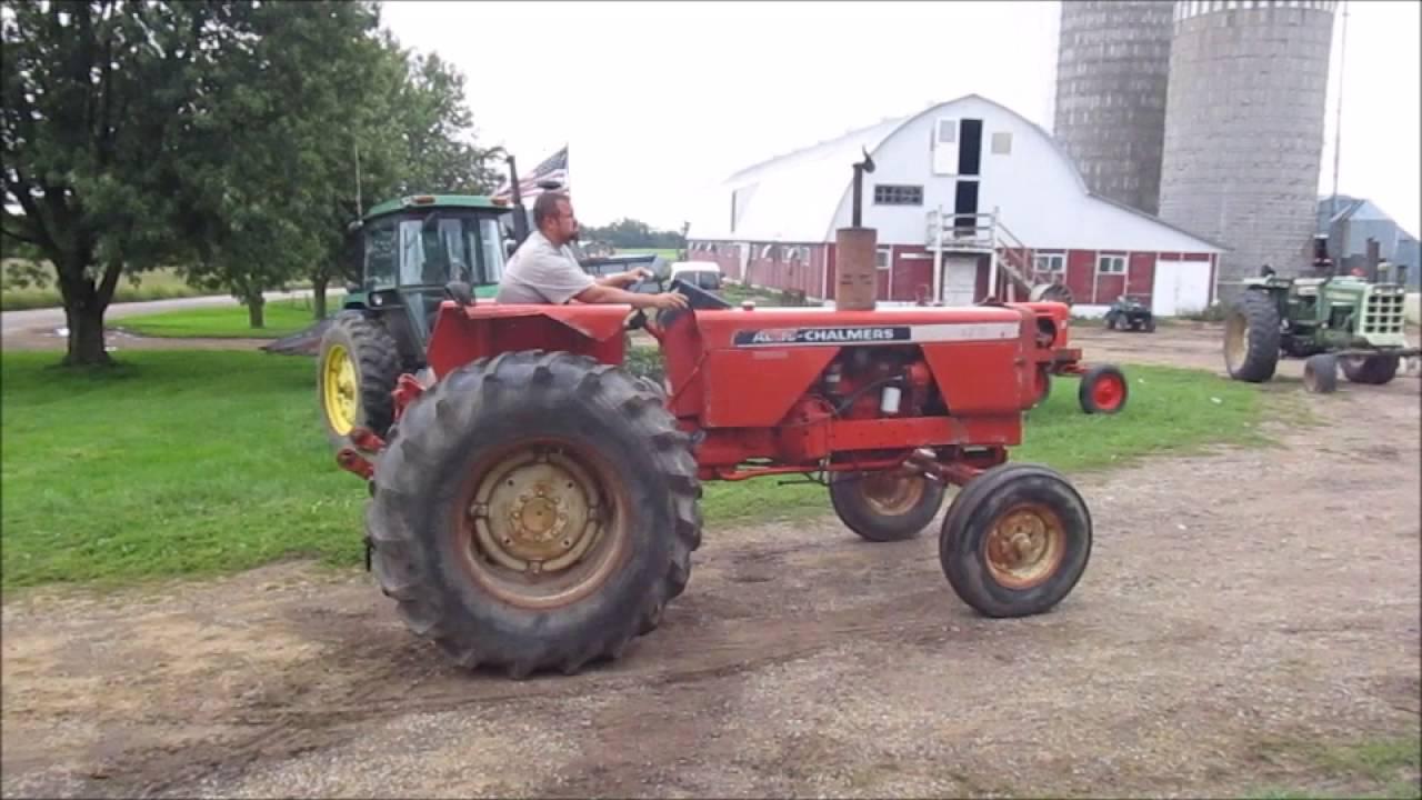 Allis Chalmers 175 : Allis chalmers diesel tractor youtube