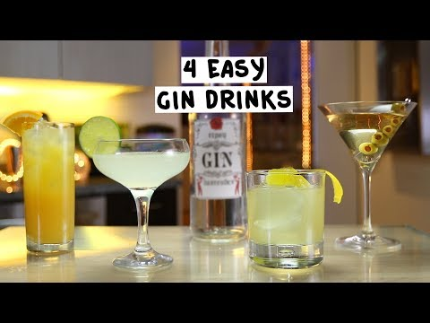 How to make an extra dry gin martini