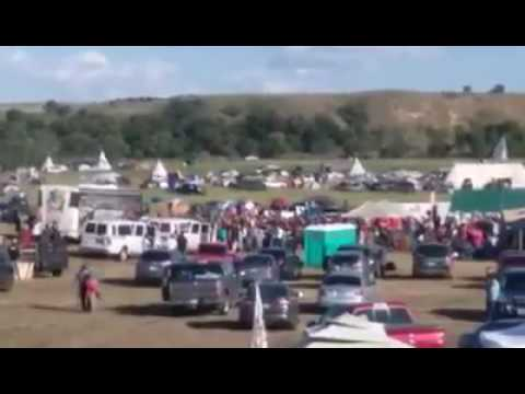 The Great Comanche Nation arrives at Standing Rock to oppose DAPL!