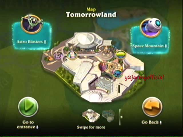 Kinect Disneyland Adventures Xbox 360 Playthrough Part 2 Youtube