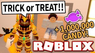 COMPRANDO o traje o mais caro no truque ou no simulador do deleite!! * 1000000 + doces! * (Roblox)