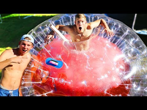 2000 Pound DIY GIANT Slushy Ball (POLAR PLUNGE CHALLENGE)