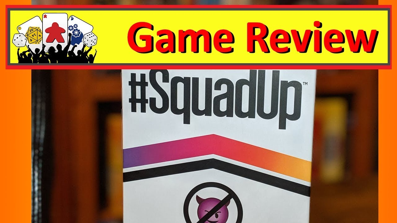 #SquadUp Board Game Review