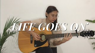 (BTS) Life Goes On - Fingerstyle Guitar Cover