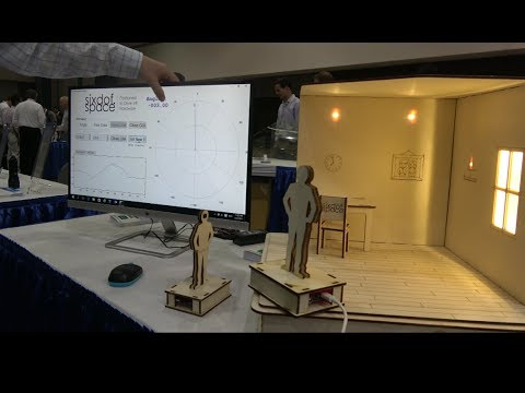 Six Degrees Space sub-millisecond Optical rotation sensor for Nausea-free VR/AR/MR
