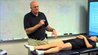Knee Examination - Varus and Valgus Stress Tests