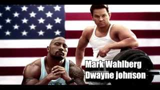 Скачать Mark Wahlberg Dwayne Johnson Delinquent Habits Return Of The Tres
