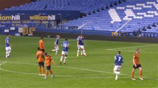Highlights: Everton U23s 1-0 Wolves U23s