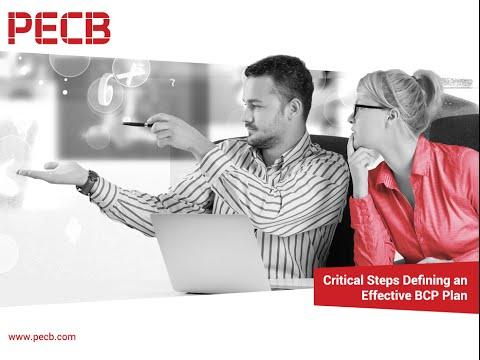 Critical Steps designing an Effective Business Continuity Management Plan