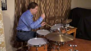 """Gretsch Renown Maple""""Sound Check& Workout""""by Ken Loomer Part Two"""
