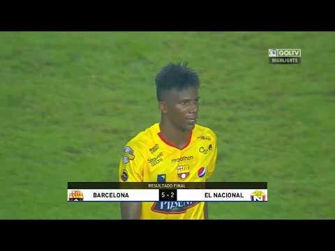 Barcelona 5:2 El Nacional