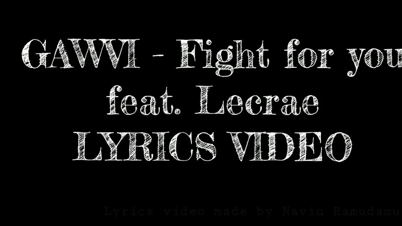 Lyrics video   GAWVI -