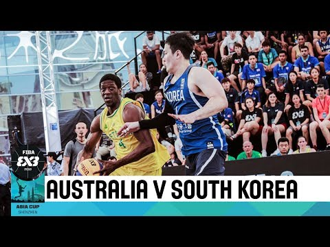 Australia v South Korea - Quarter-Finals - Men's Full Game - FIBA 3x3 Asia Cup 2018