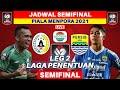 Jadwal Semifinal Piala Menpora 2021 LEG 2 - PSS vs Persib - Live Indosiar